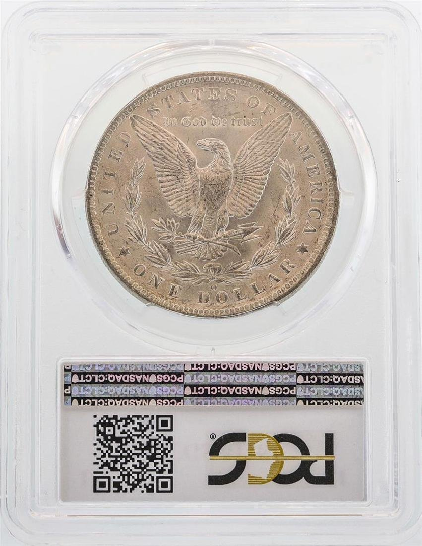1885-O $1 Morgan Silver Dollar Coin PCGS MS64 - 2