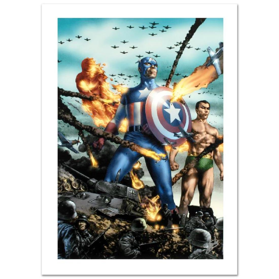 Giant-Size Invaders #2 by Stan Lee - Marvel Comics