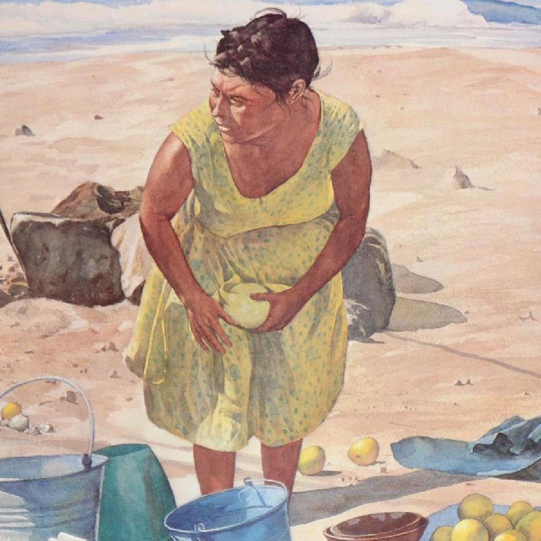Mexican Fruit Vendor by Nelson, William - 2