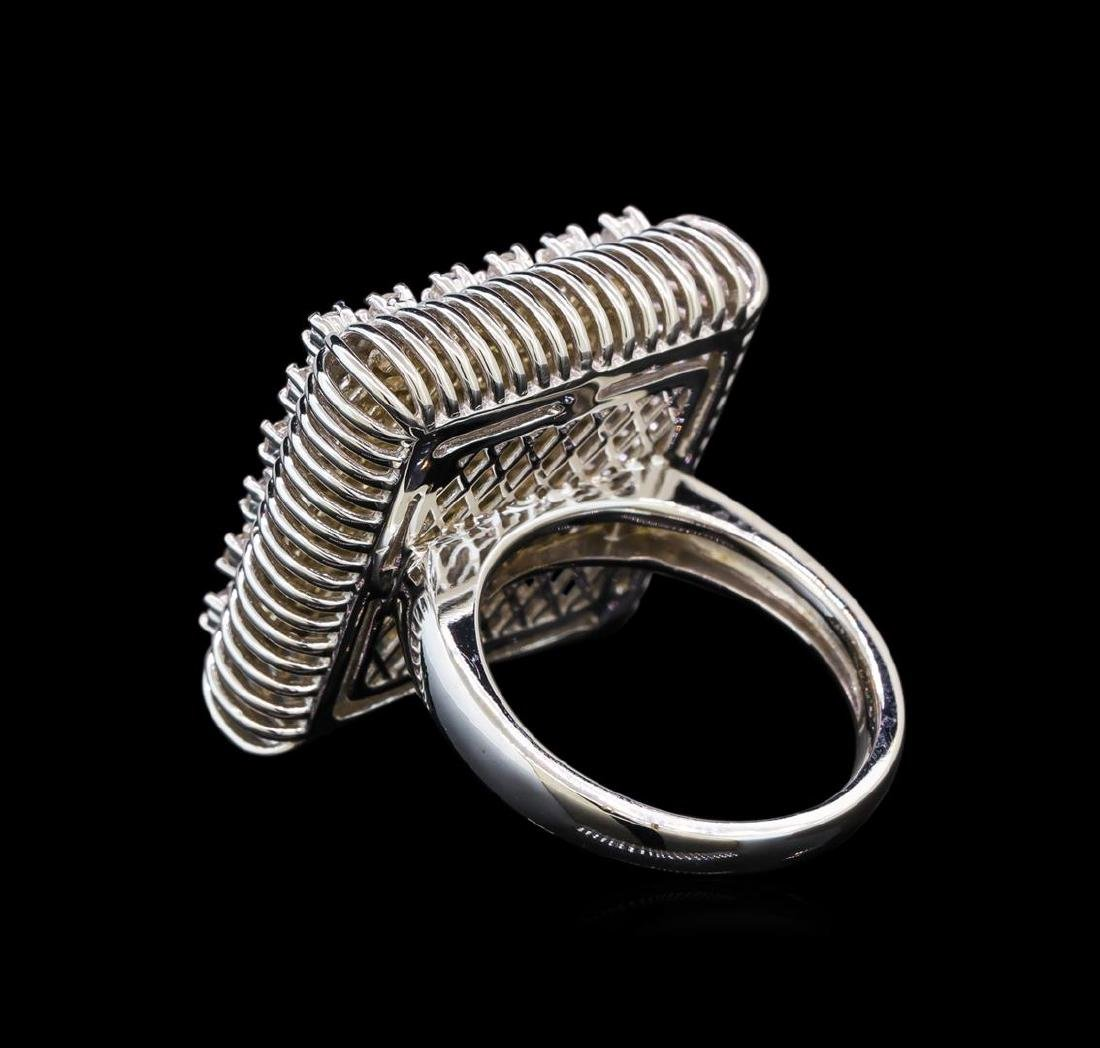 14KT White Gold 0.49 ctw Diamond Ring - 3