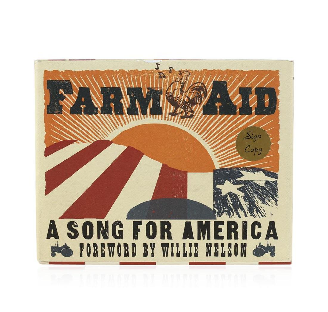 Signed Copy of Farm Aid: A Song for America by Foreword