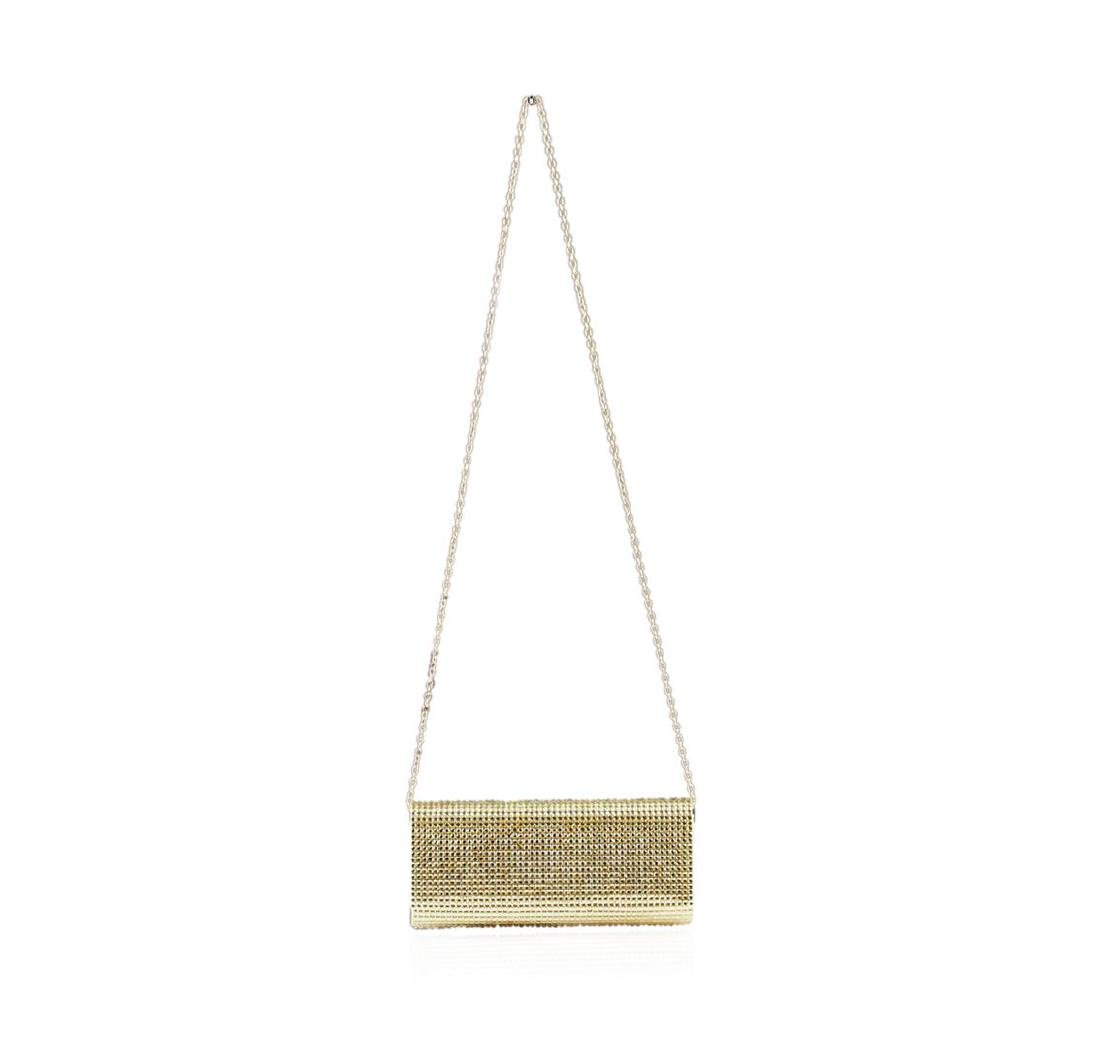Peggy Sparkly Gold Evening Clutch - 2