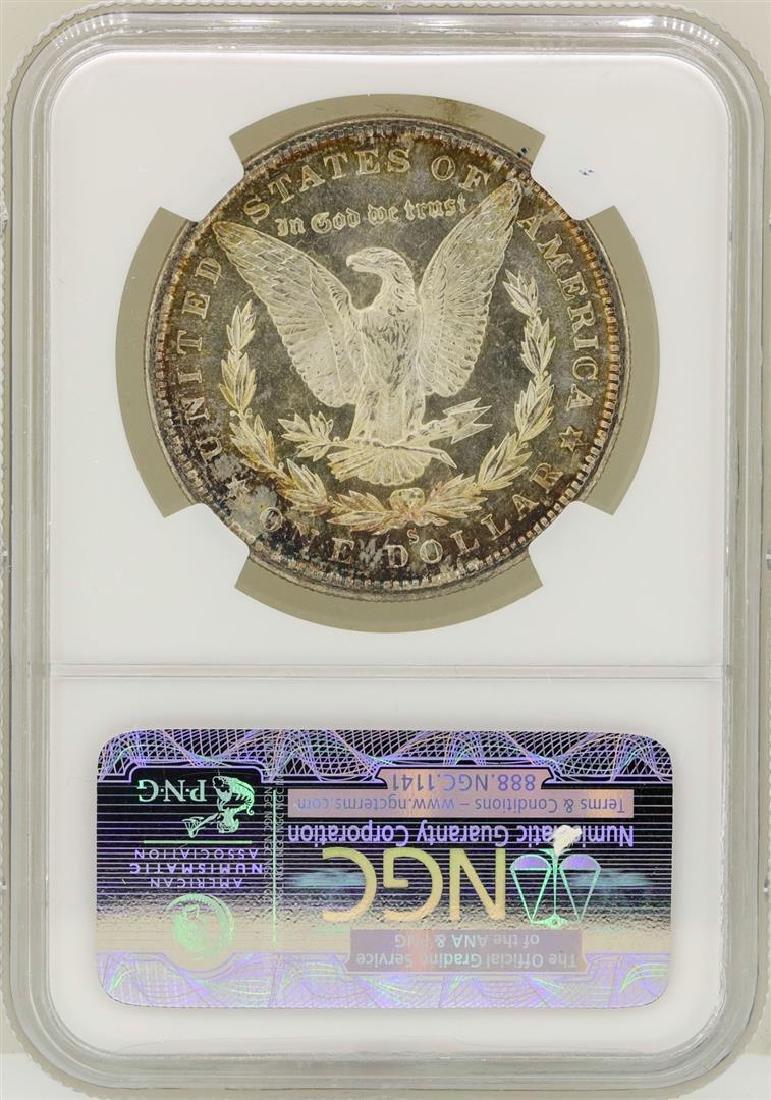1880-S $1 Morgan Silver Dollar Coin NGC MS65 - 2