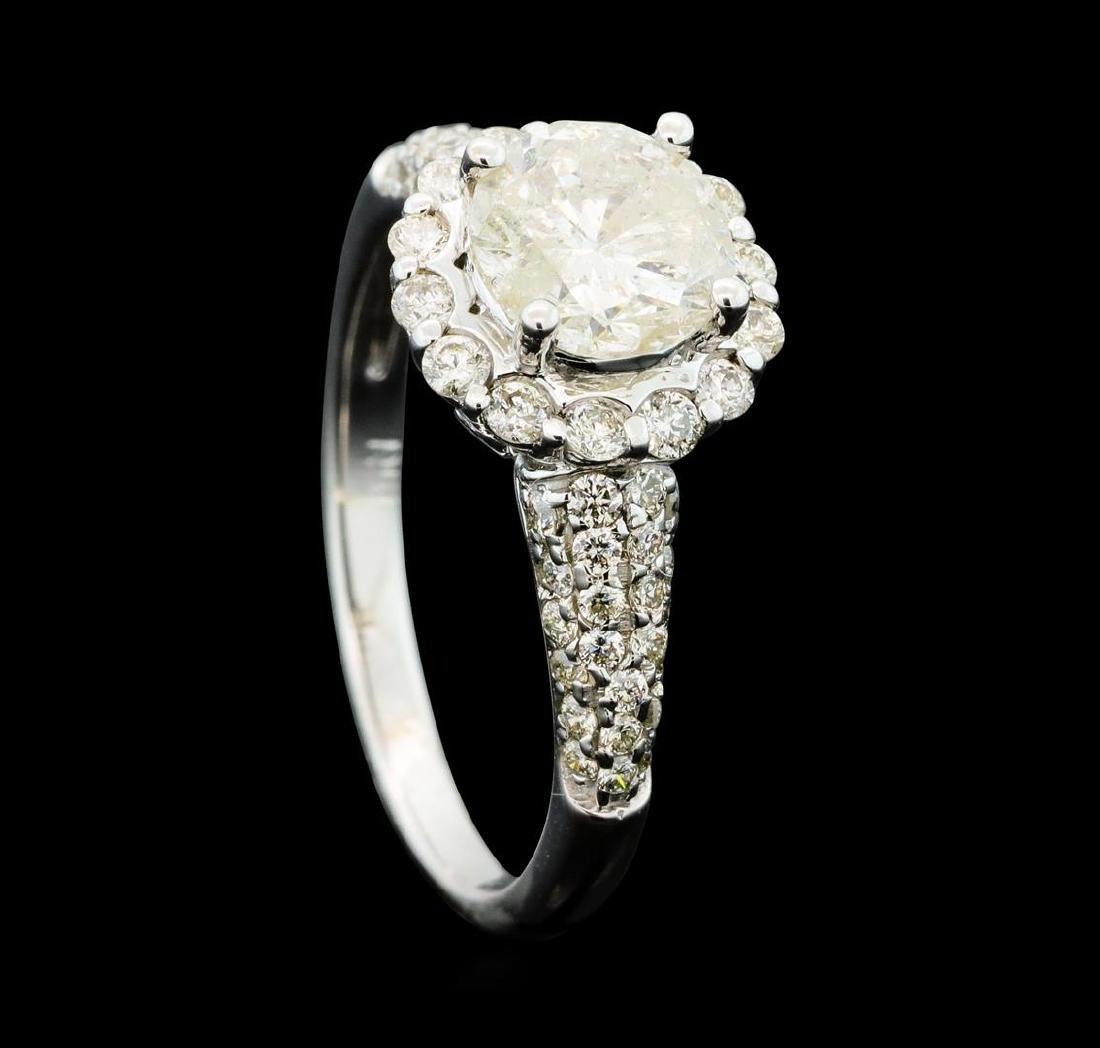 1.81 ctw Diamond Ring - 14KT White Gold - 4