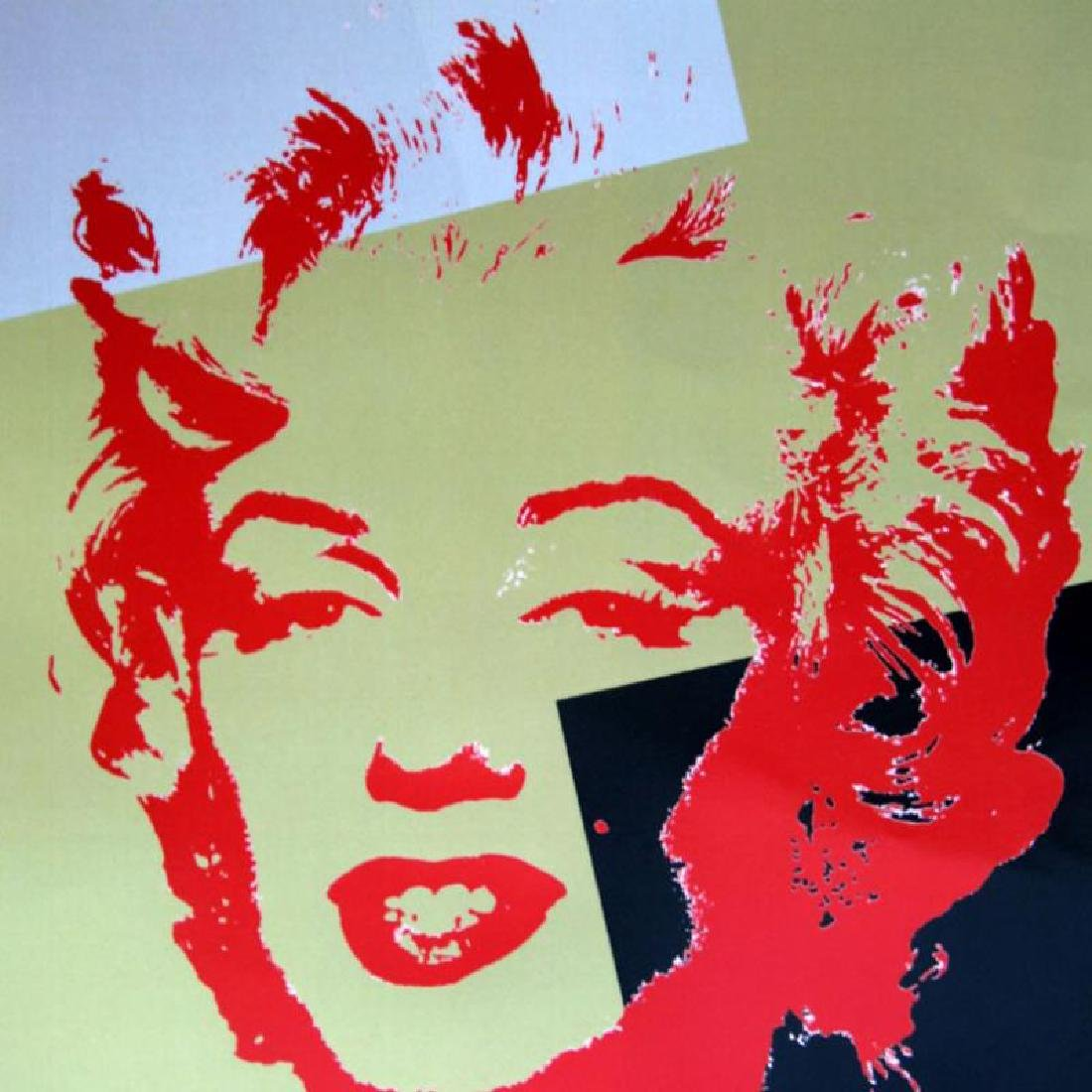 Golden Marilyn 11.44 by Warhol, Andy - 2