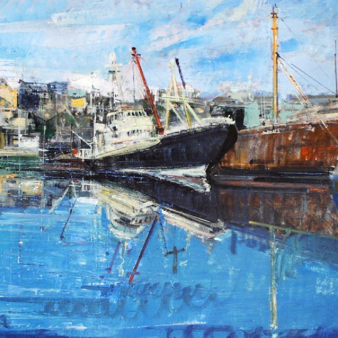 Penzance Harbor by Zwarenstein, Alex - 2
