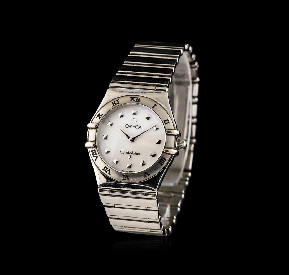 Omega Stainless Steel Constellation Ladies Watch - 2
