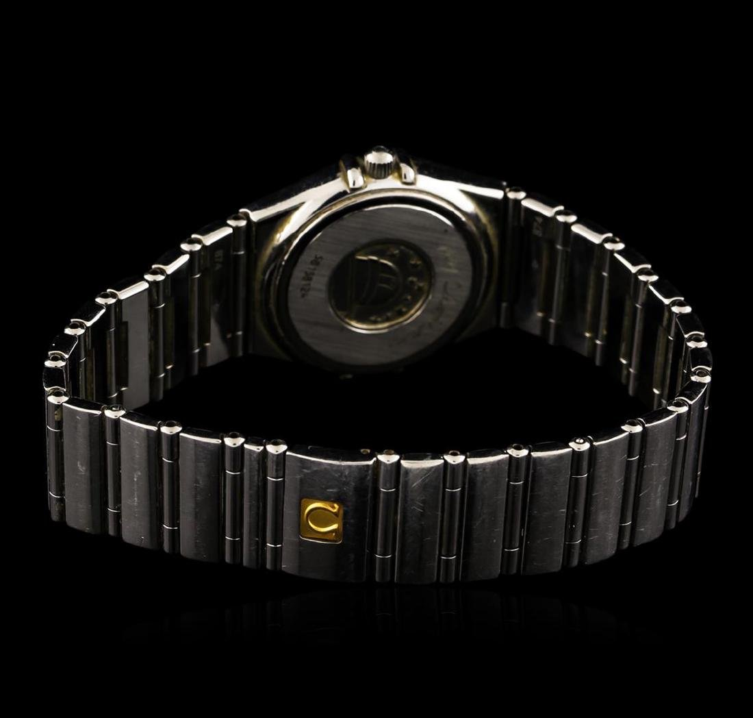 Omega Stainless Steel Constellation Ladies Watch - 3
