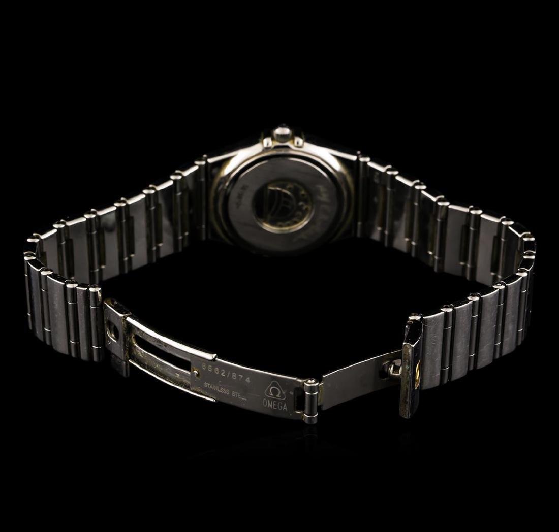 Omega Stainless Steel Constellation Ladies Watch - 4