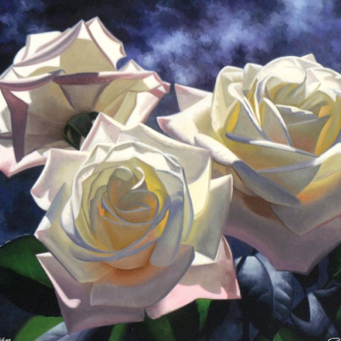 Yellow Roses by Davis, Brian - 2