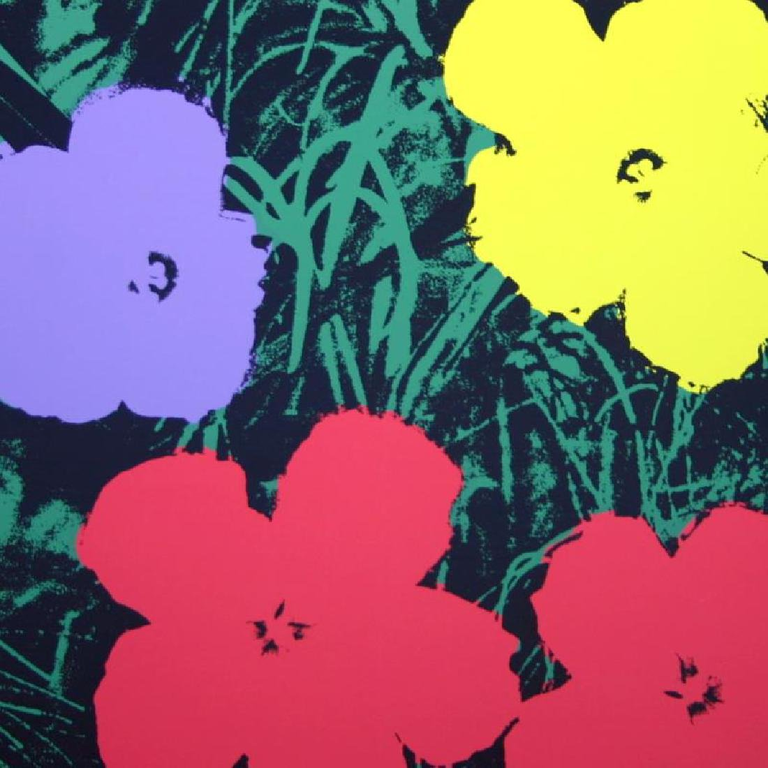 Flowers 11.73 by Warhol, Andy - 2