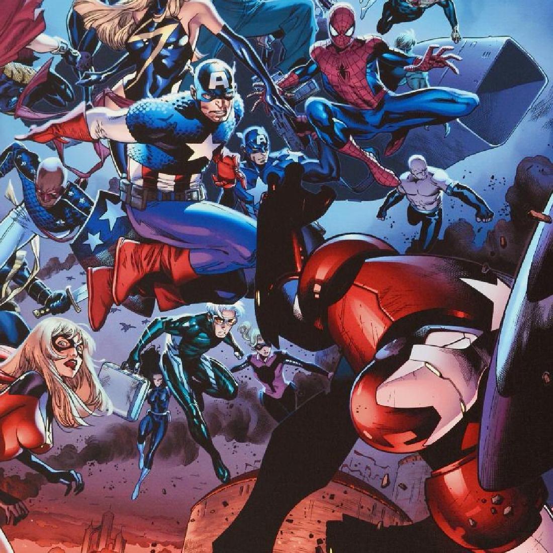 Siege #3 by Stan Lee - Marvel Comics - 2