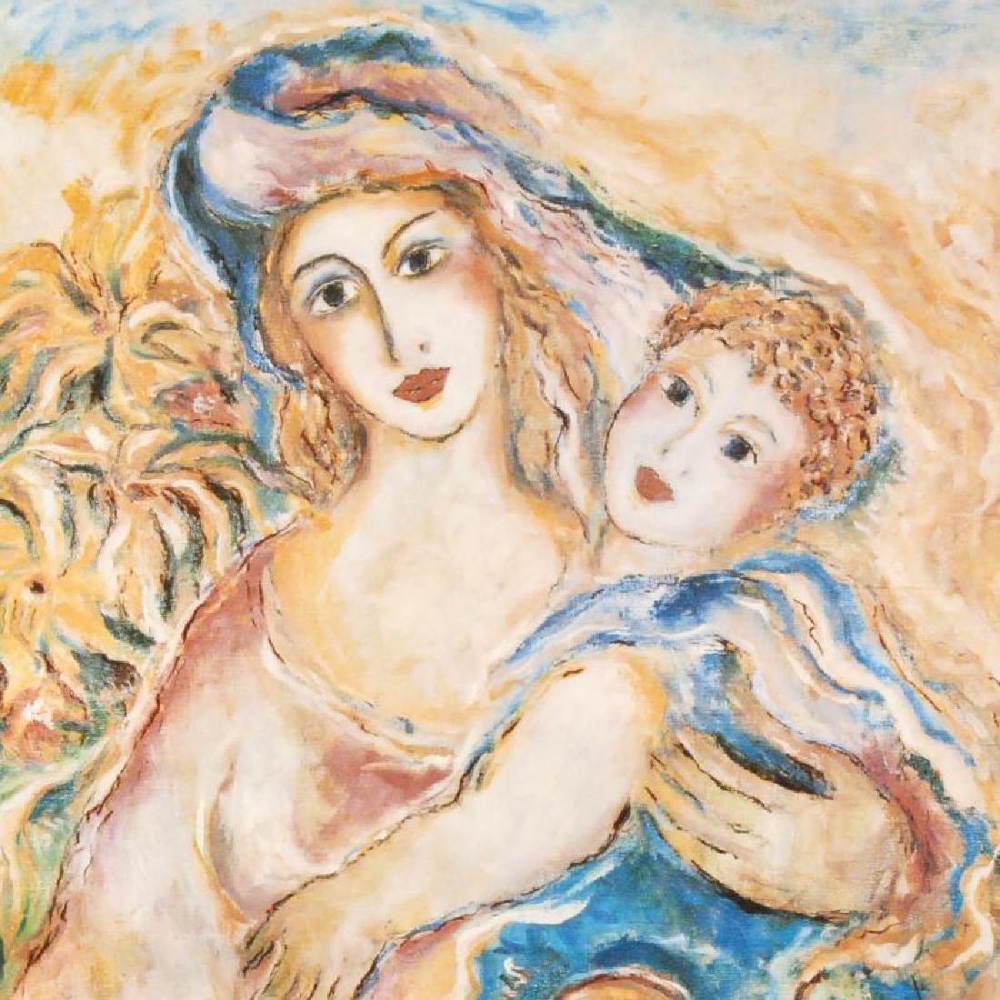 Mother's Love by Steynovitz (1951-2000) - 2