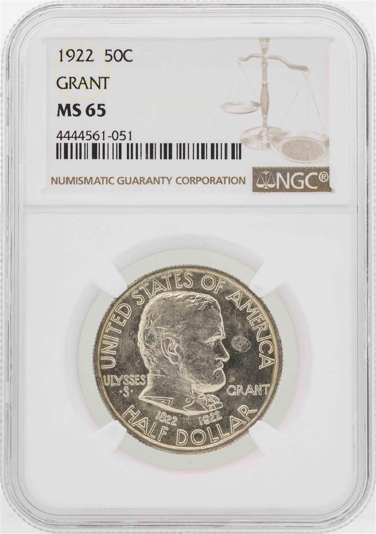 1922 Grant Memorial Commemorative Half Dollar Coin NGC