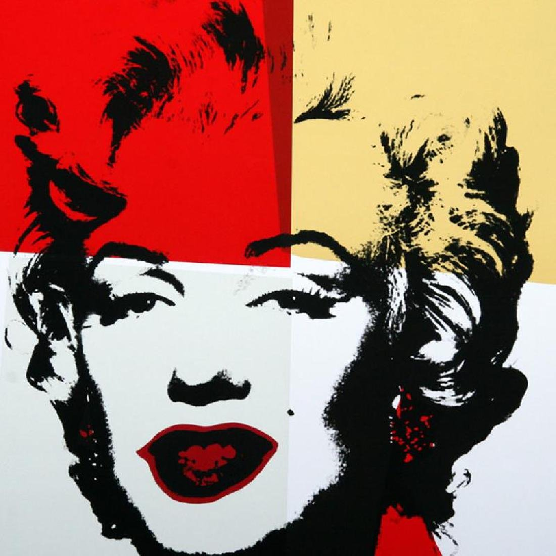 Golden Marilyn 11.38 by Warhol, Andy - 2