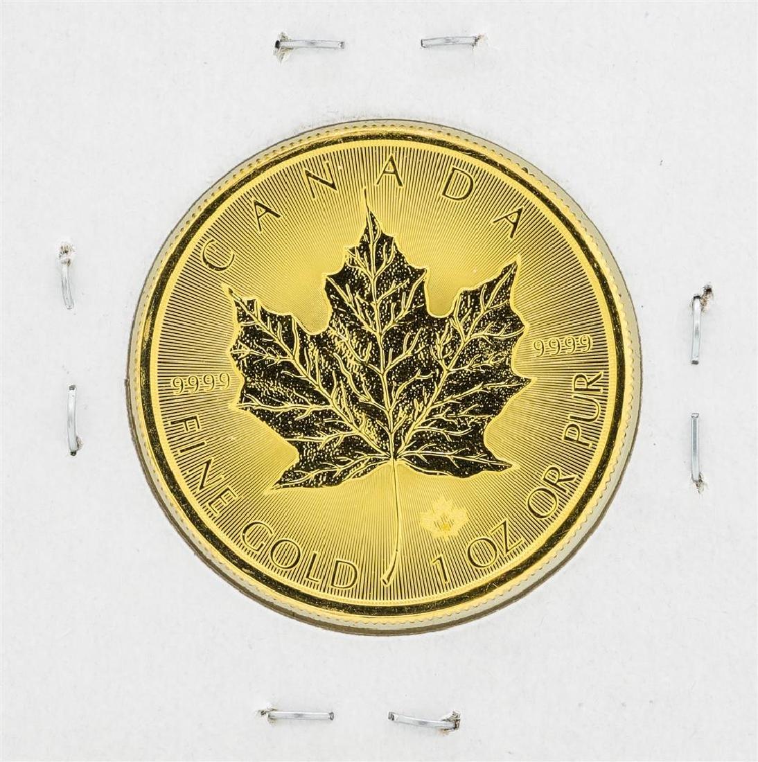 2016 Canadian $50 Gold Maple Leaf - 2
