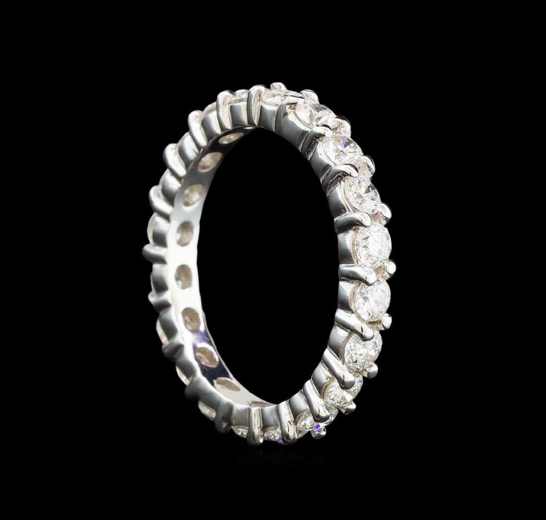 14KT White Gold 1.14 ctw Diamond Ring - 2