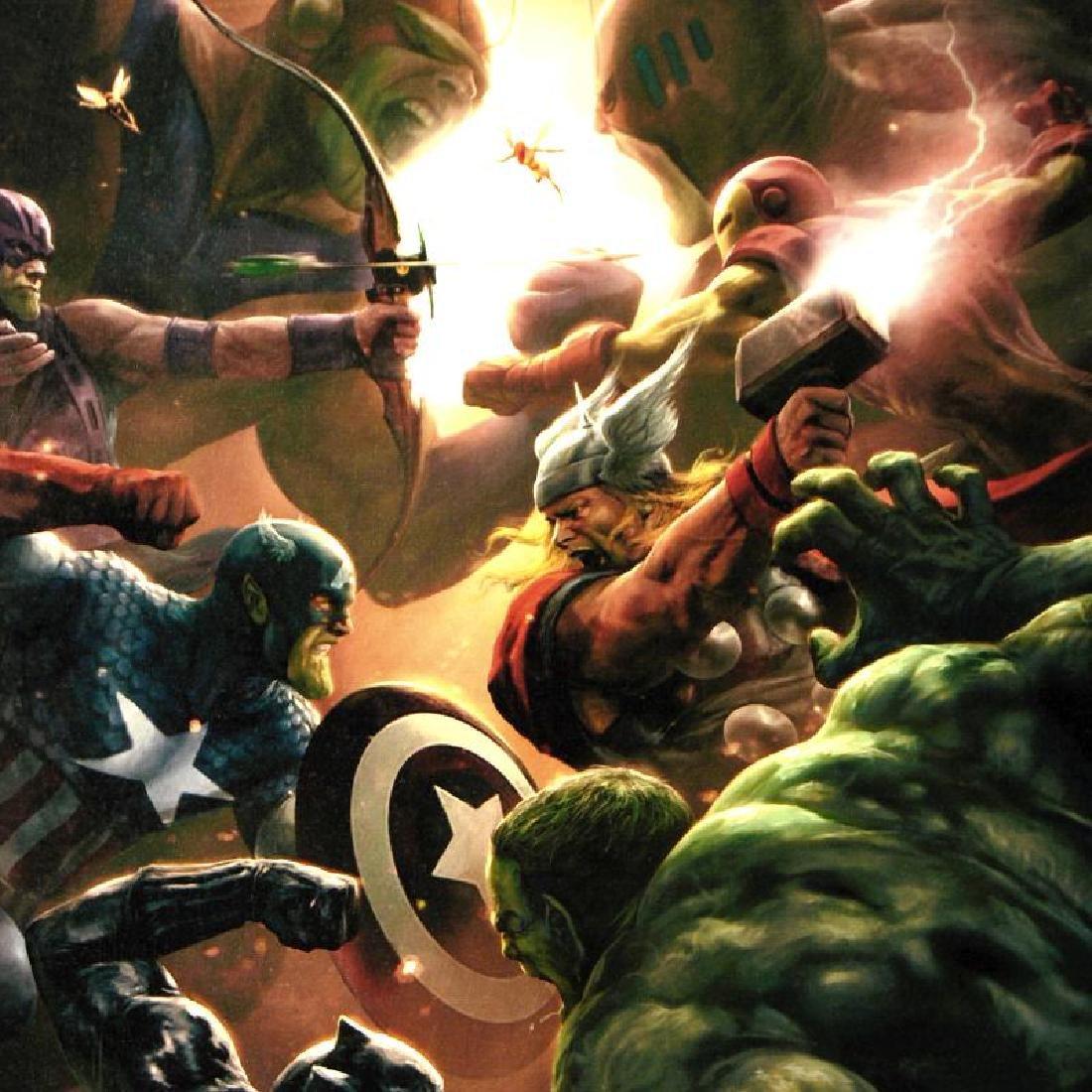 New Avengers #43 by Marvel Comics - 2
