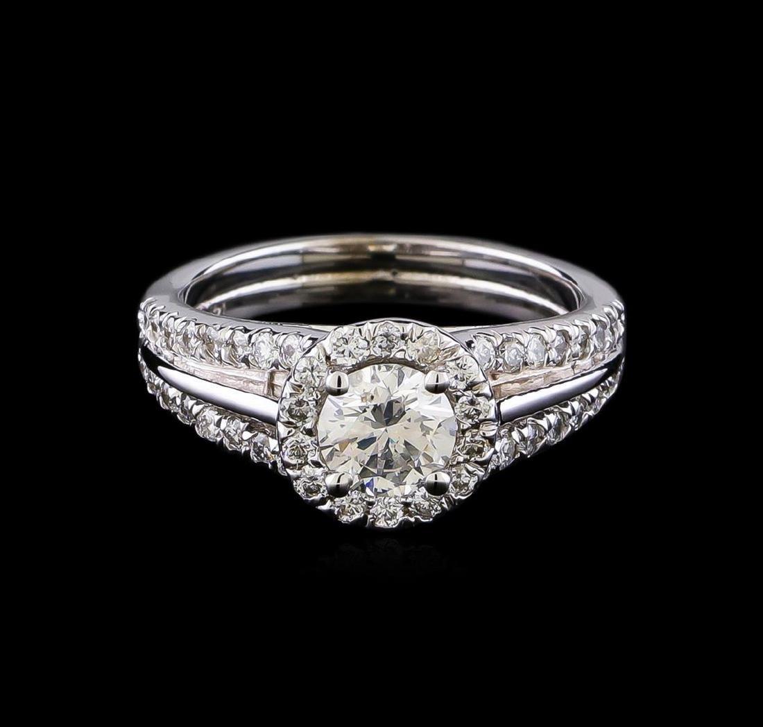 1.16 ctw Diamond Ring - 14KT White Gold - 2