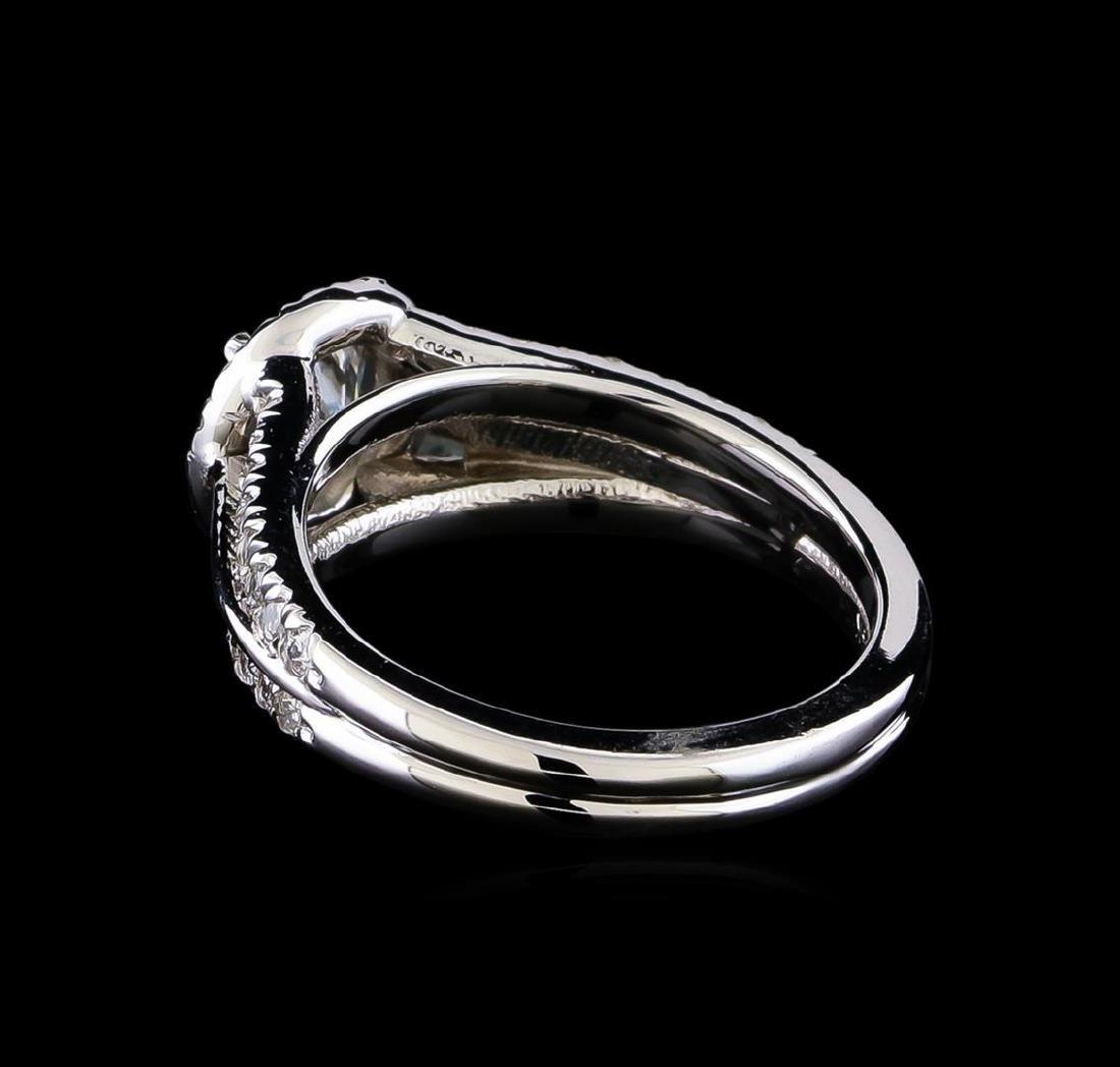 1.16 ctw Diamond Ring - 14KT White Gold - 3