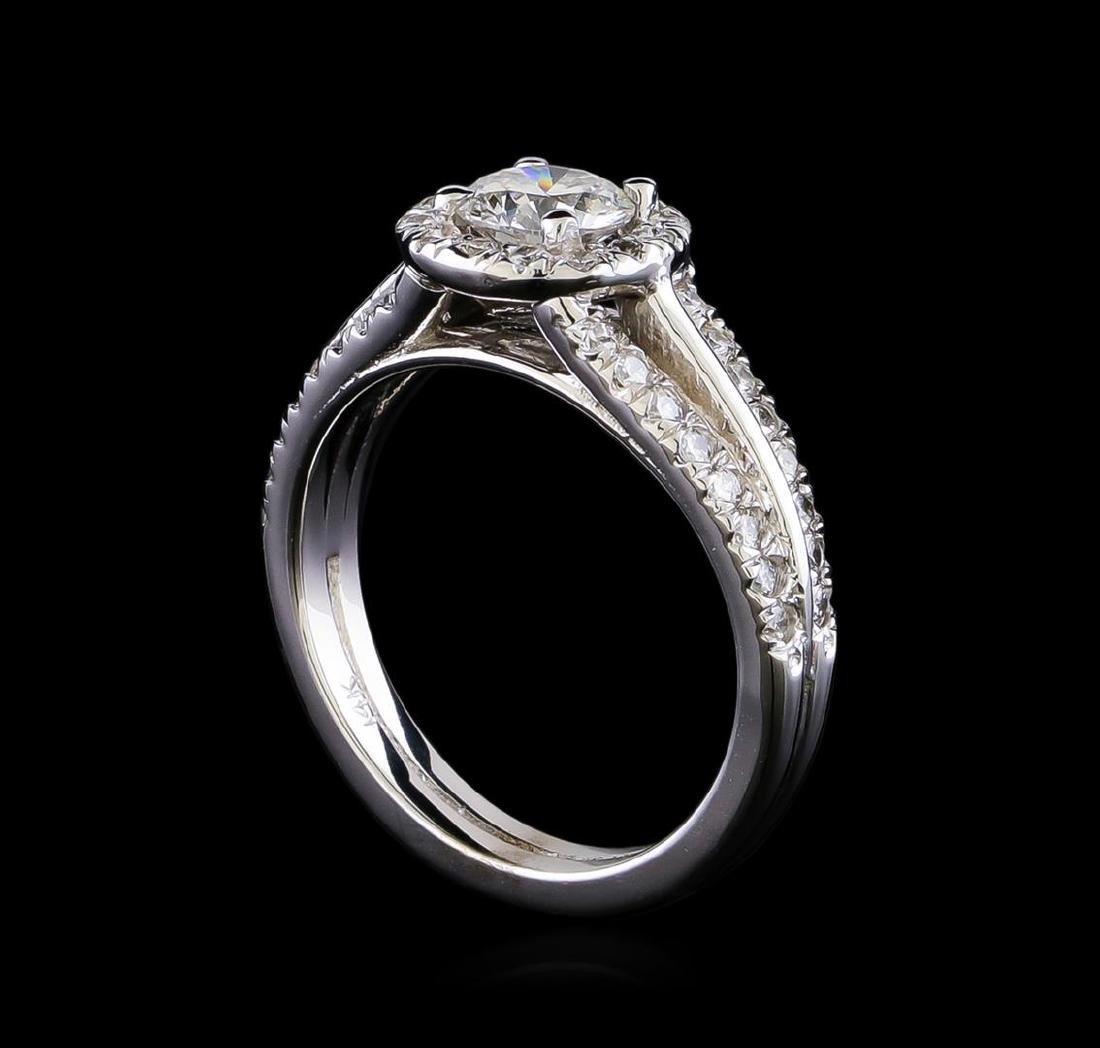 1.16 ctw Diamond Ring - 14KT White Gold - 4