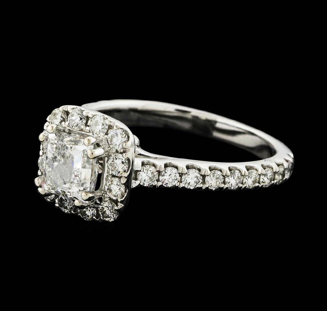 14KT White Gold 1.54 ctw Diamond Ring - 2