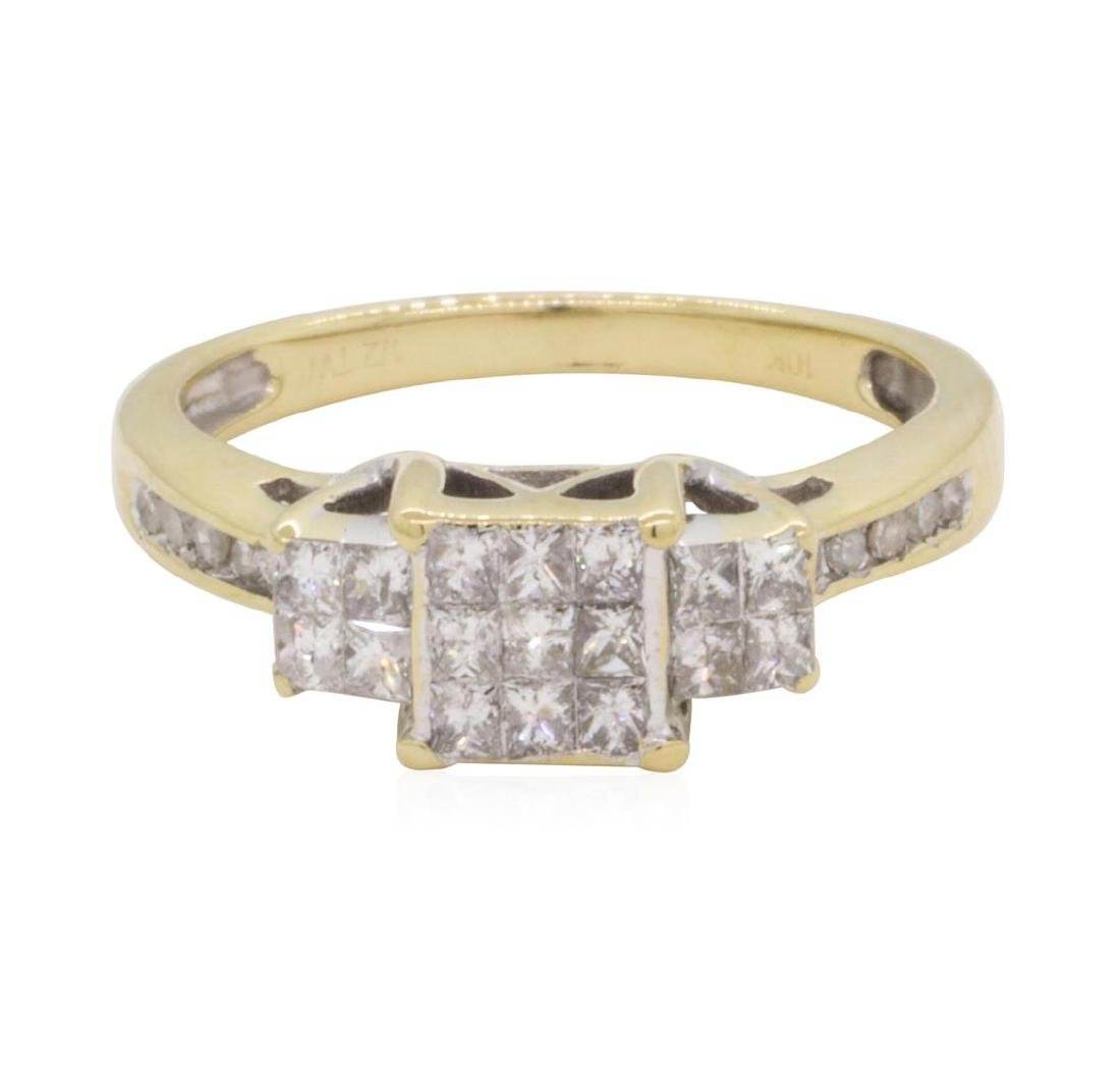 0.5 ctw Diamond Ring - 10KT Yellow Gold