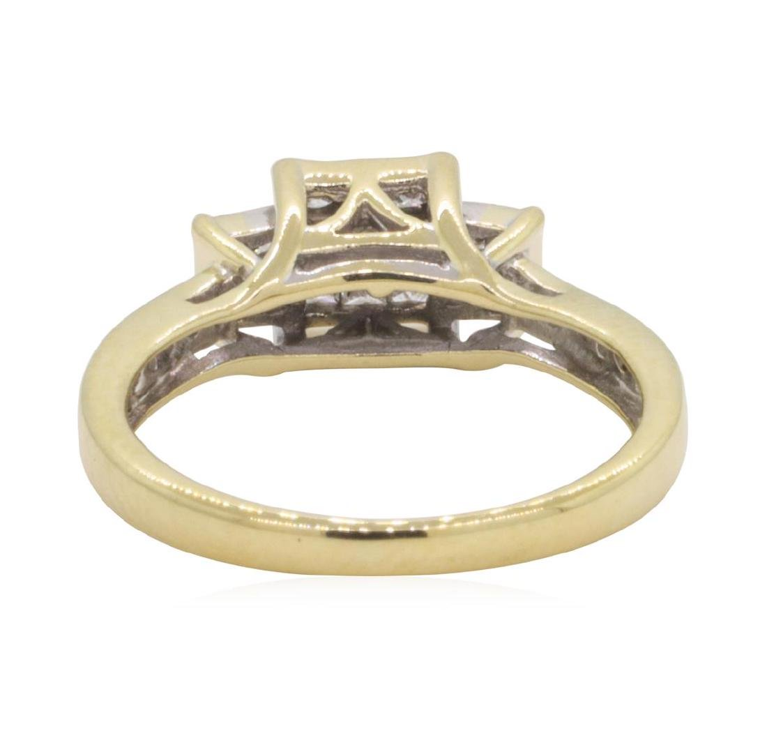 0.5 ctw Diamond Ring - 10KT Yellow Gold - 3