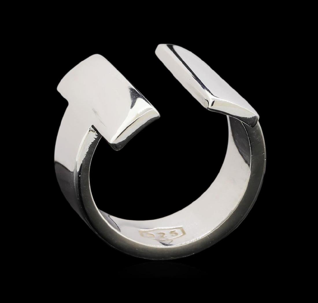 Classic Sterling Silver Ring - 4