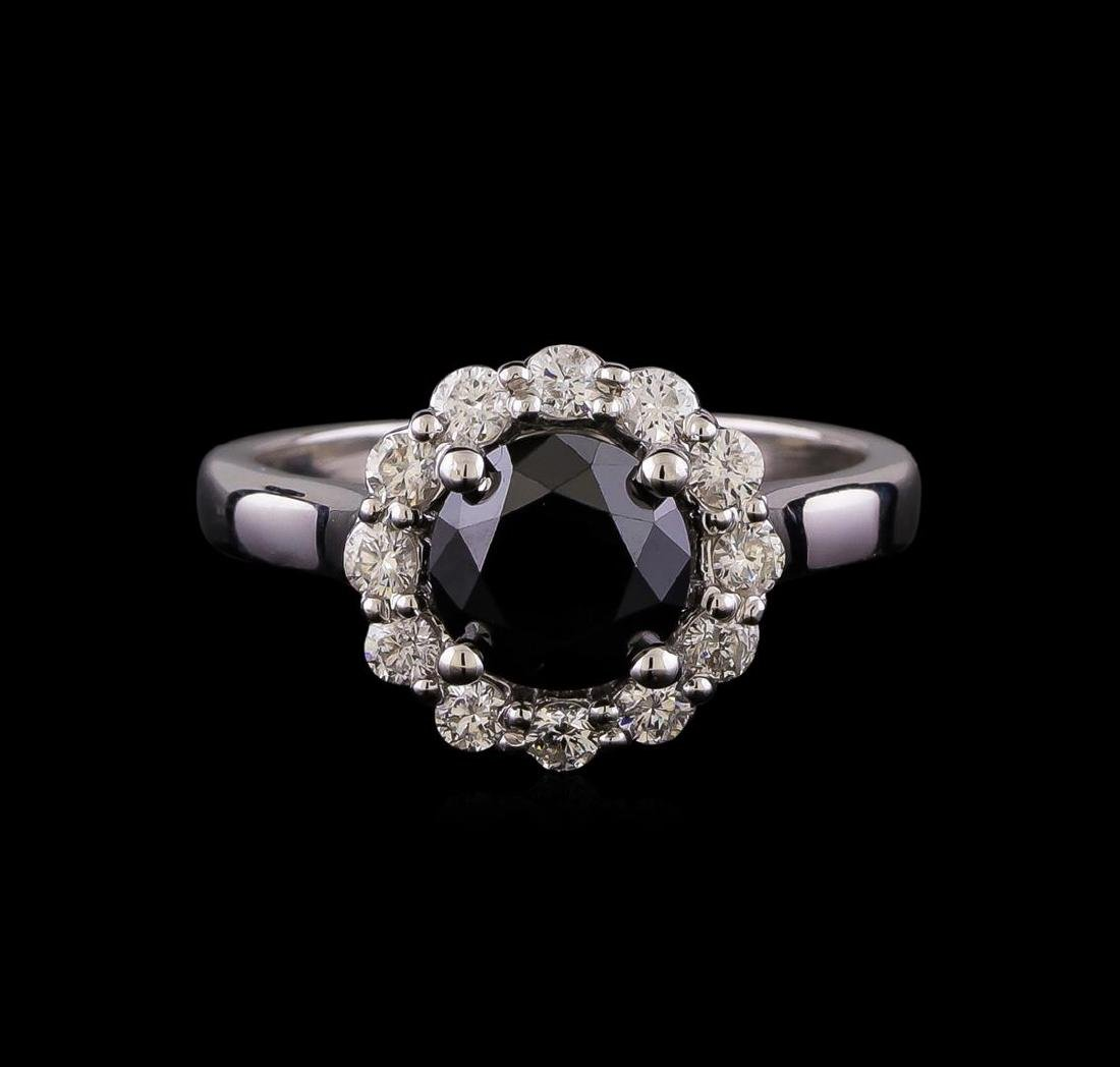 2.07 ctw Diamond Ring - 14KT White Gold - 2