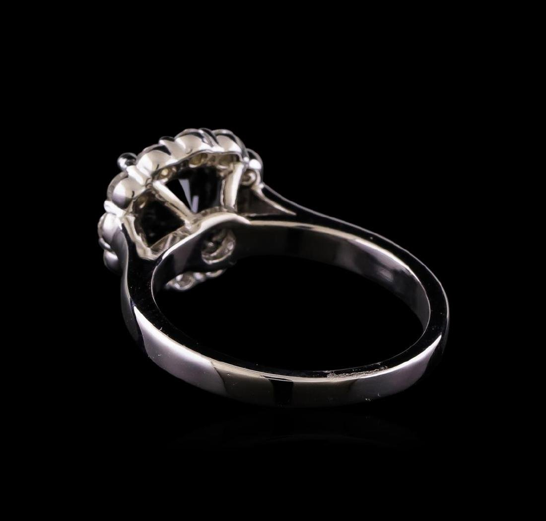 2.07 ctw Diamond Ring - 14KT White Gold - 3