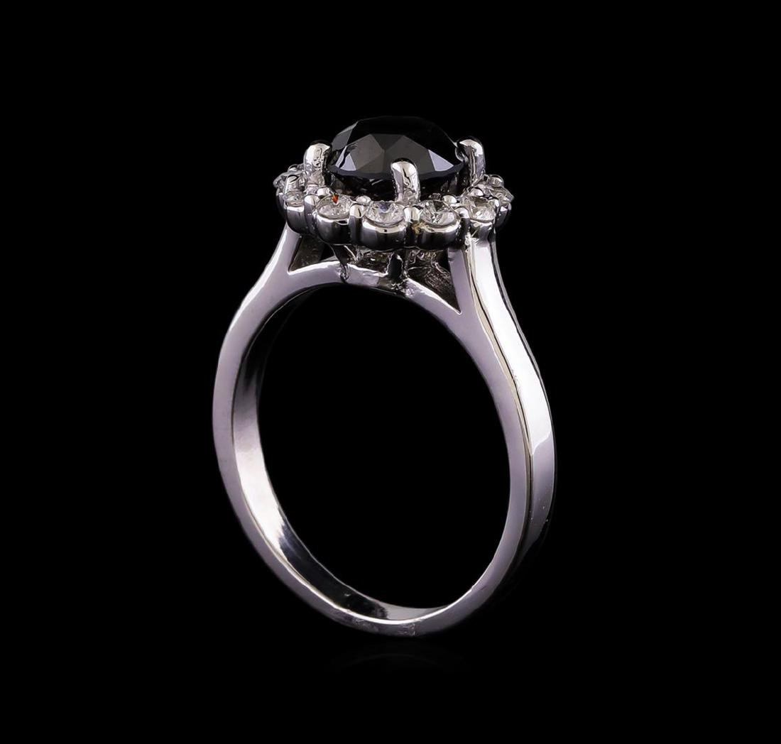 2.07 ctw Diamond Ring - 14KT White Gold - 4