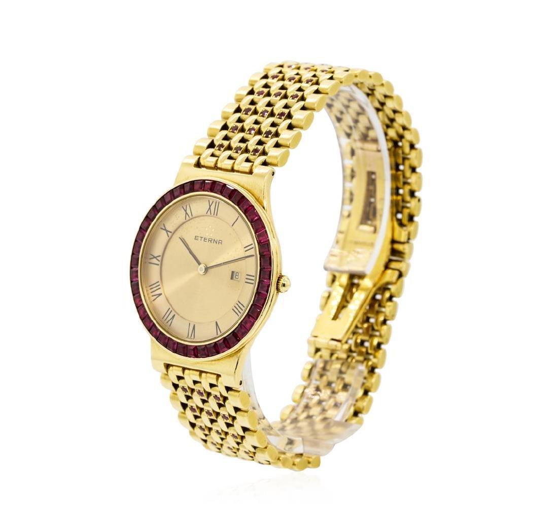 Eterna 18KT Yellow Gold Manual Wristwatch - 2