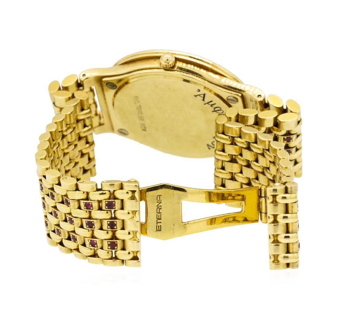 Eterna 18KT Yellow Gold Manual Wristwatch - 4