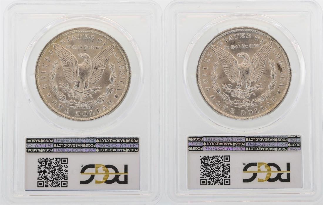 Lot of 1884-O & 1885-O $1 Morgan Silver Dollar Coins - 2