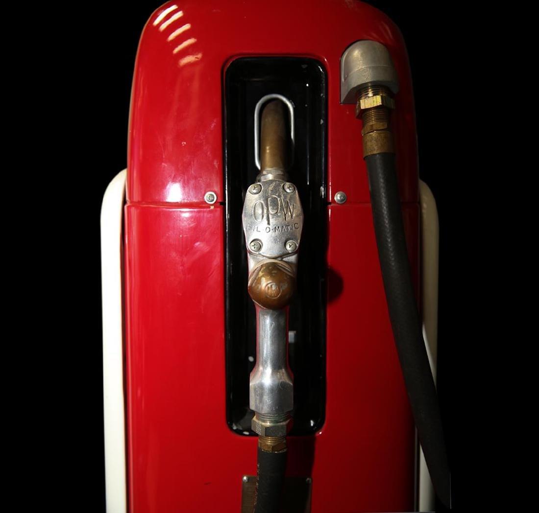 Vintage Mobilgas Martin & Schwartz Gas Pump - 2