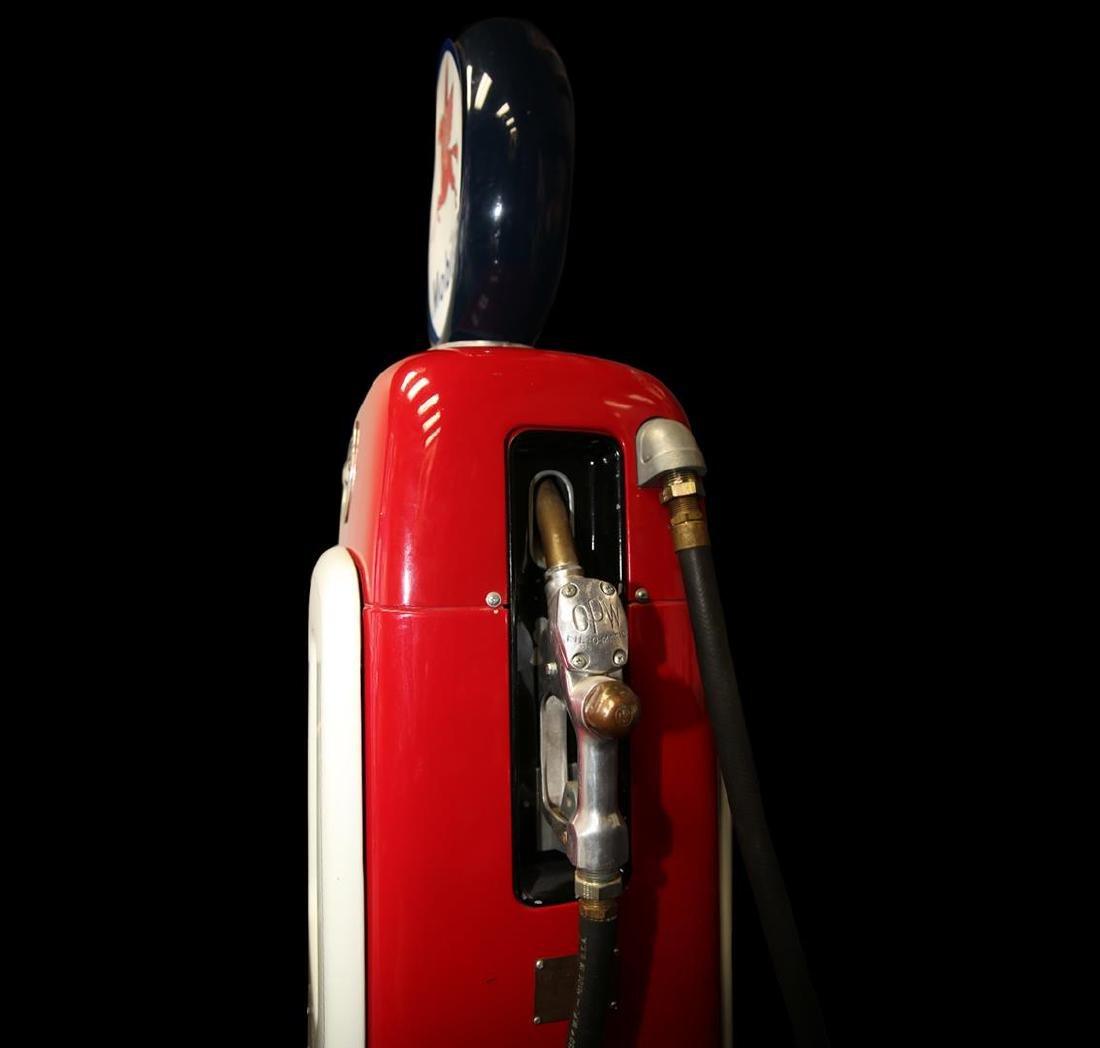 Vintage Mobilgas Martin & Schwartz Gas Pump - 5