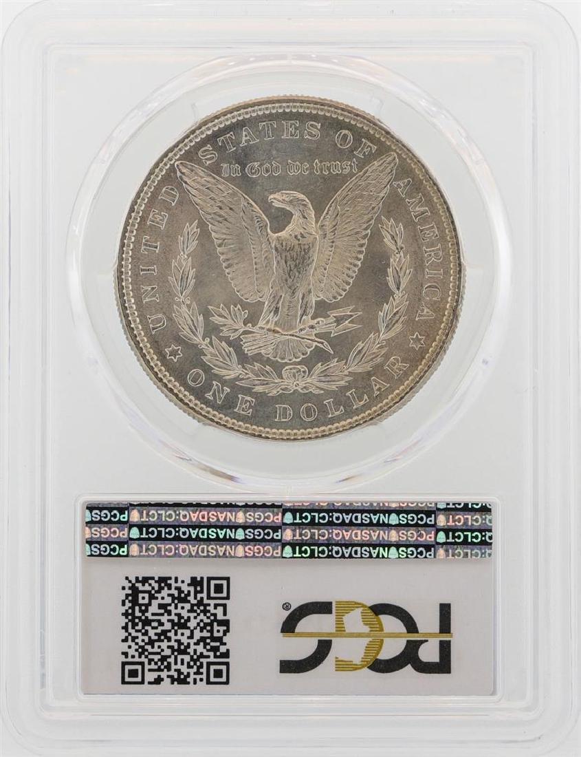 1885 $1 Morgan Silver Dollar Coin PCGS MS63 - 2