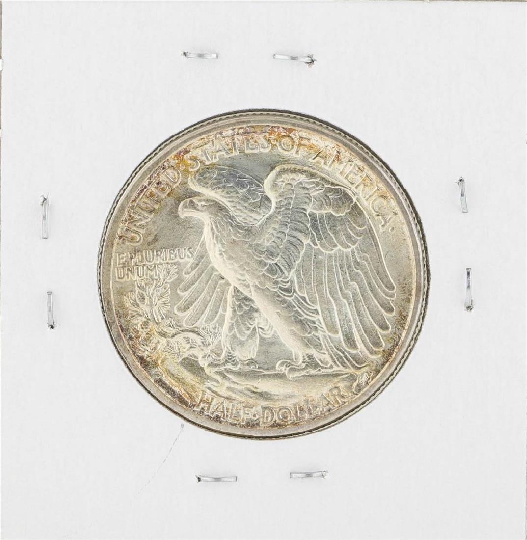 1935-D Walking Liberty Half Dollar Coin - 2