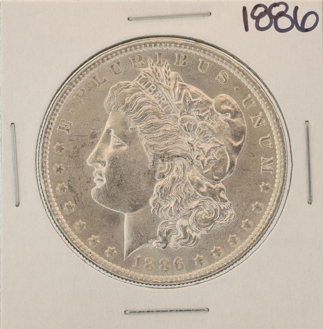 1886 $1 Morgan Silver Dollar Coin