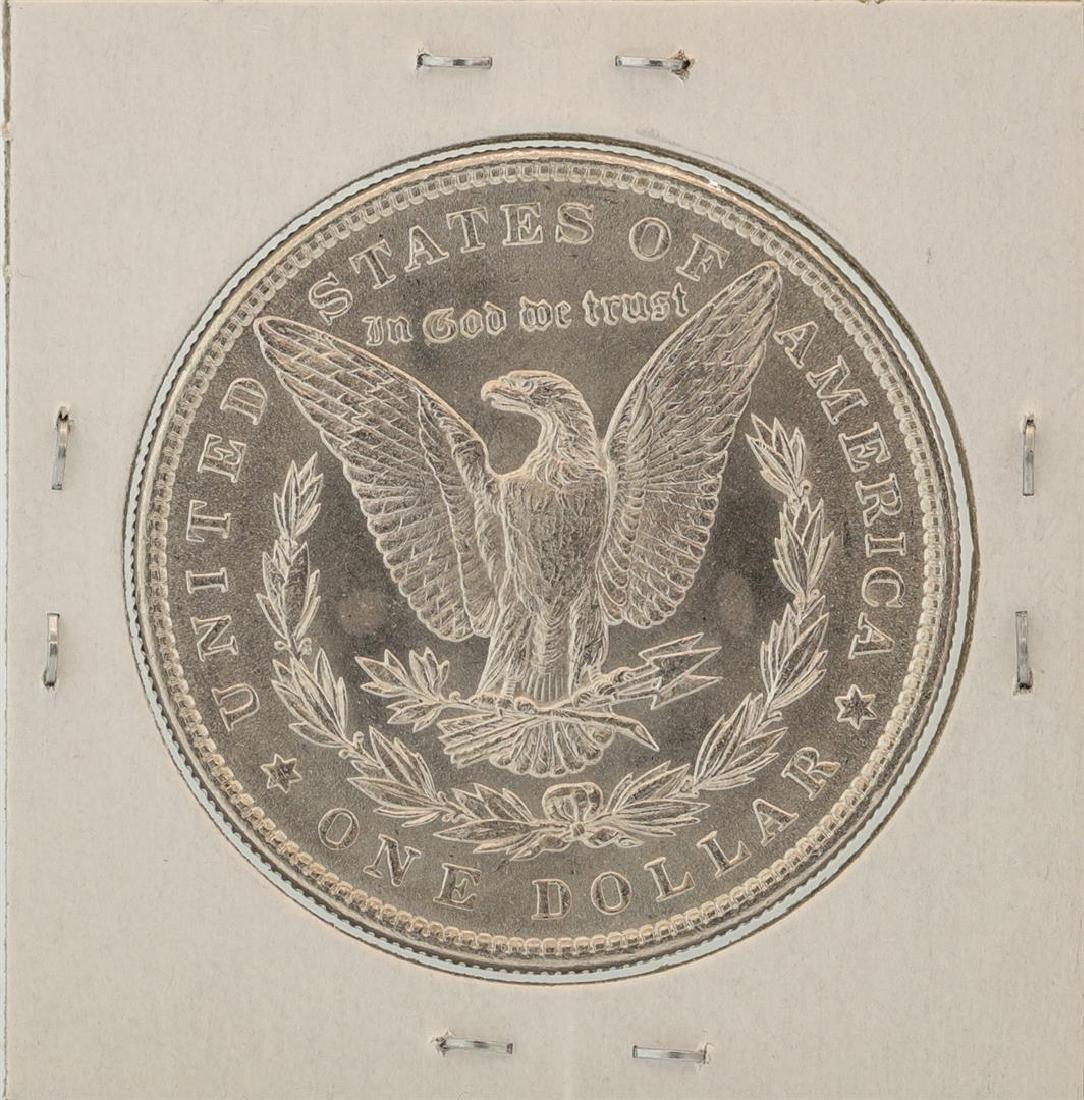 1886 $1 Morgan Silver Dollar Coin - 2
