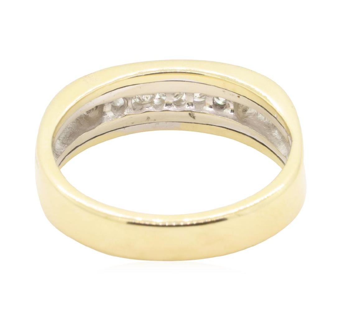 0.25 ctw Diamond Ring - 14KT Yellow Gold - 3