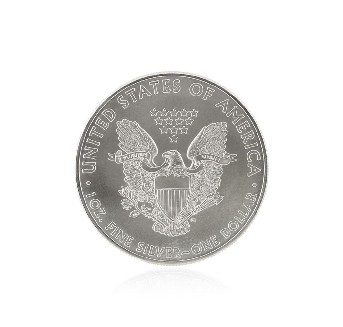 2015 American Silver Eagle Dollar BU Coin - 2