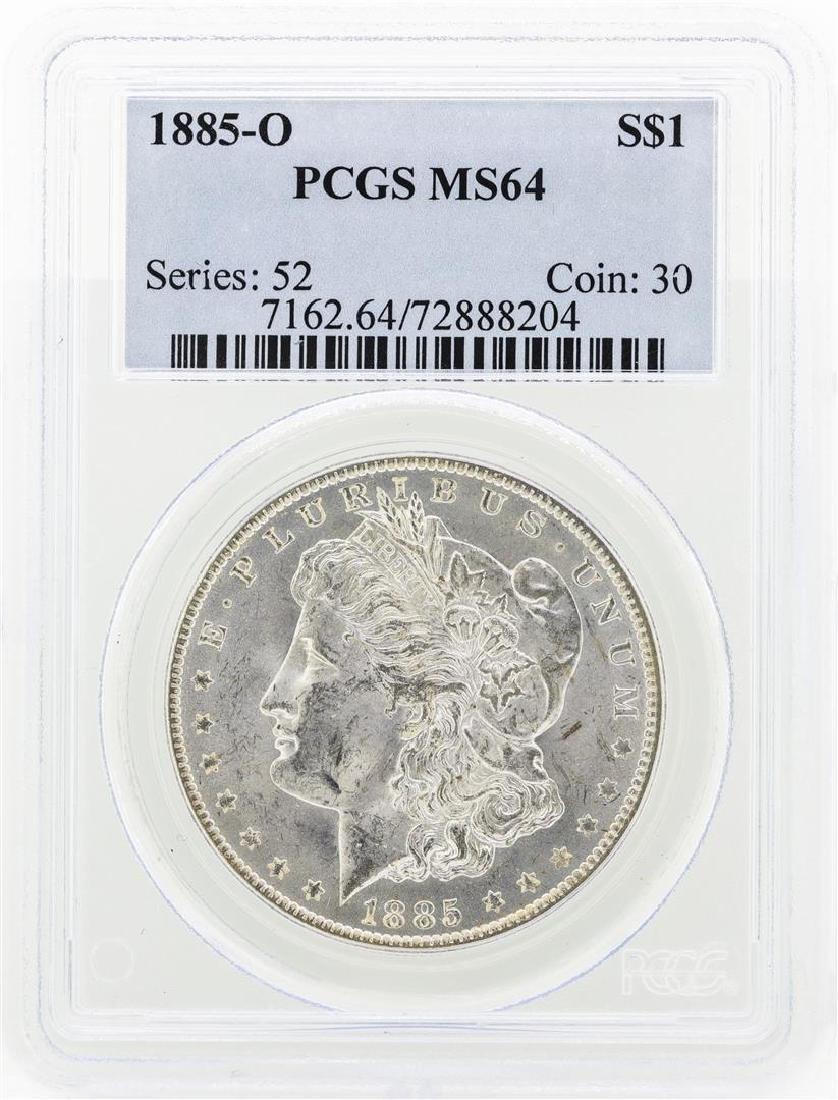 1885-O MS64 Morgan Silver Dollar