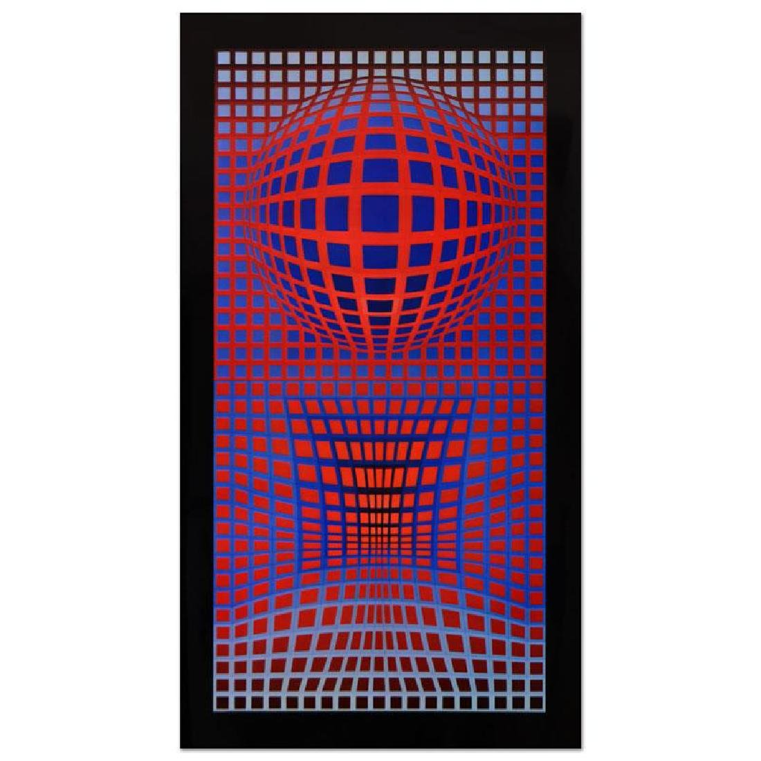 VP-RB by Vasarely (1908-1997)