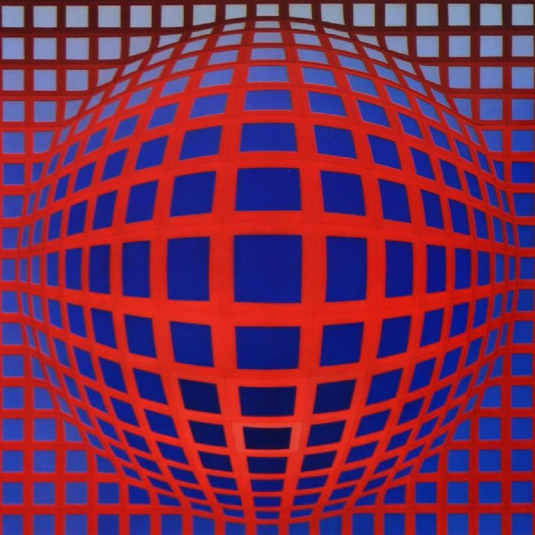 VP-RB by Vasarely (1908-1997) - 2