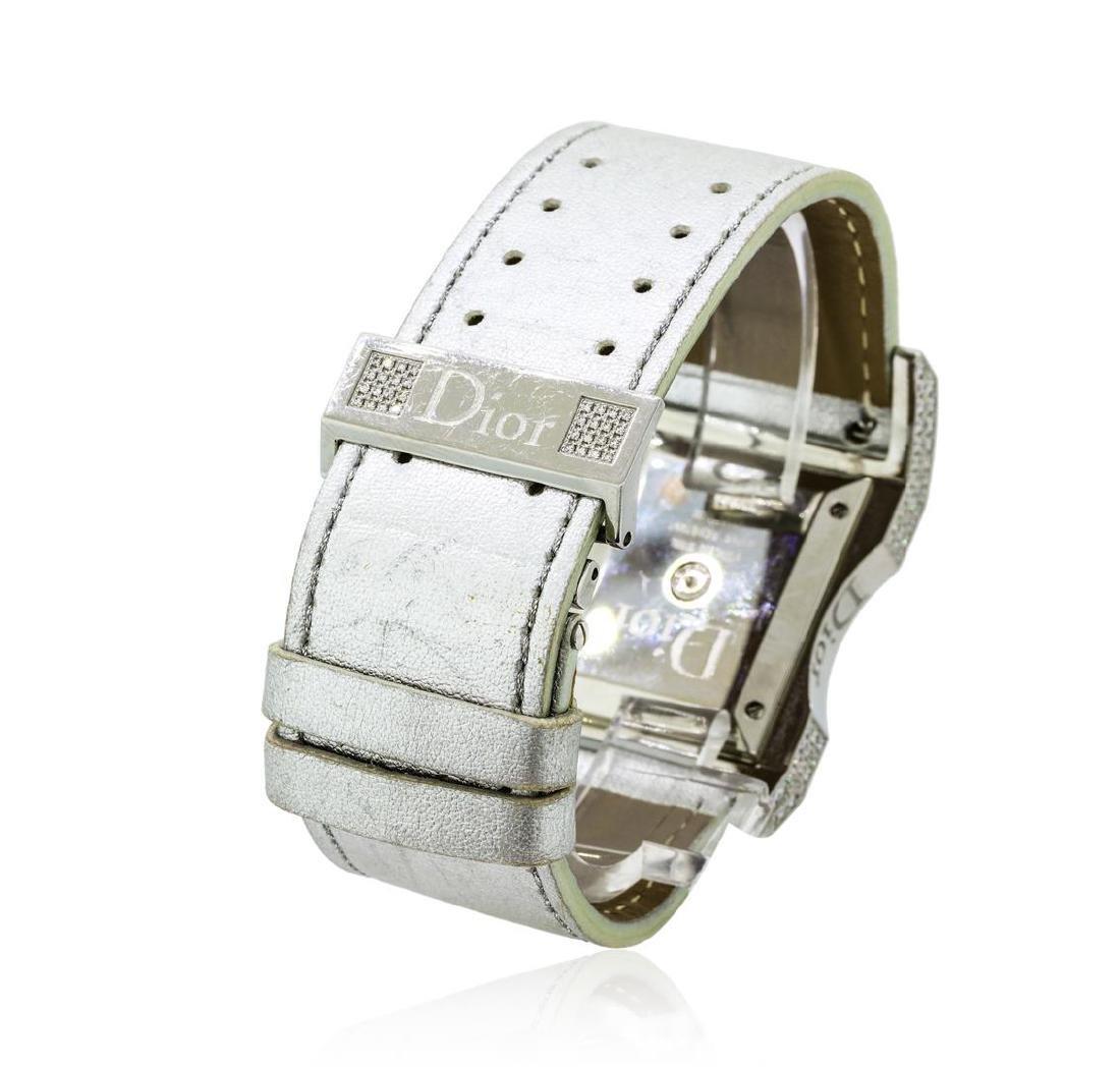 Christian Dior Diamond Wristwatch - Stainless Steel - 3