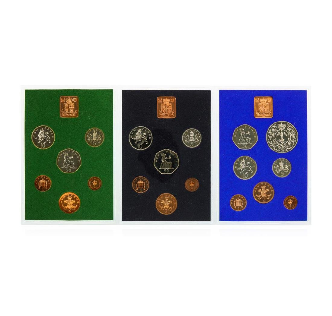 1975-1979 Coinage of Great Britain and Northern Ireland - 3