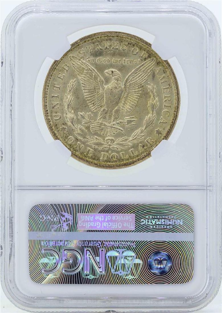 1921-S $1 Morgan Silver Dollar Coin NGC MS65 - 2