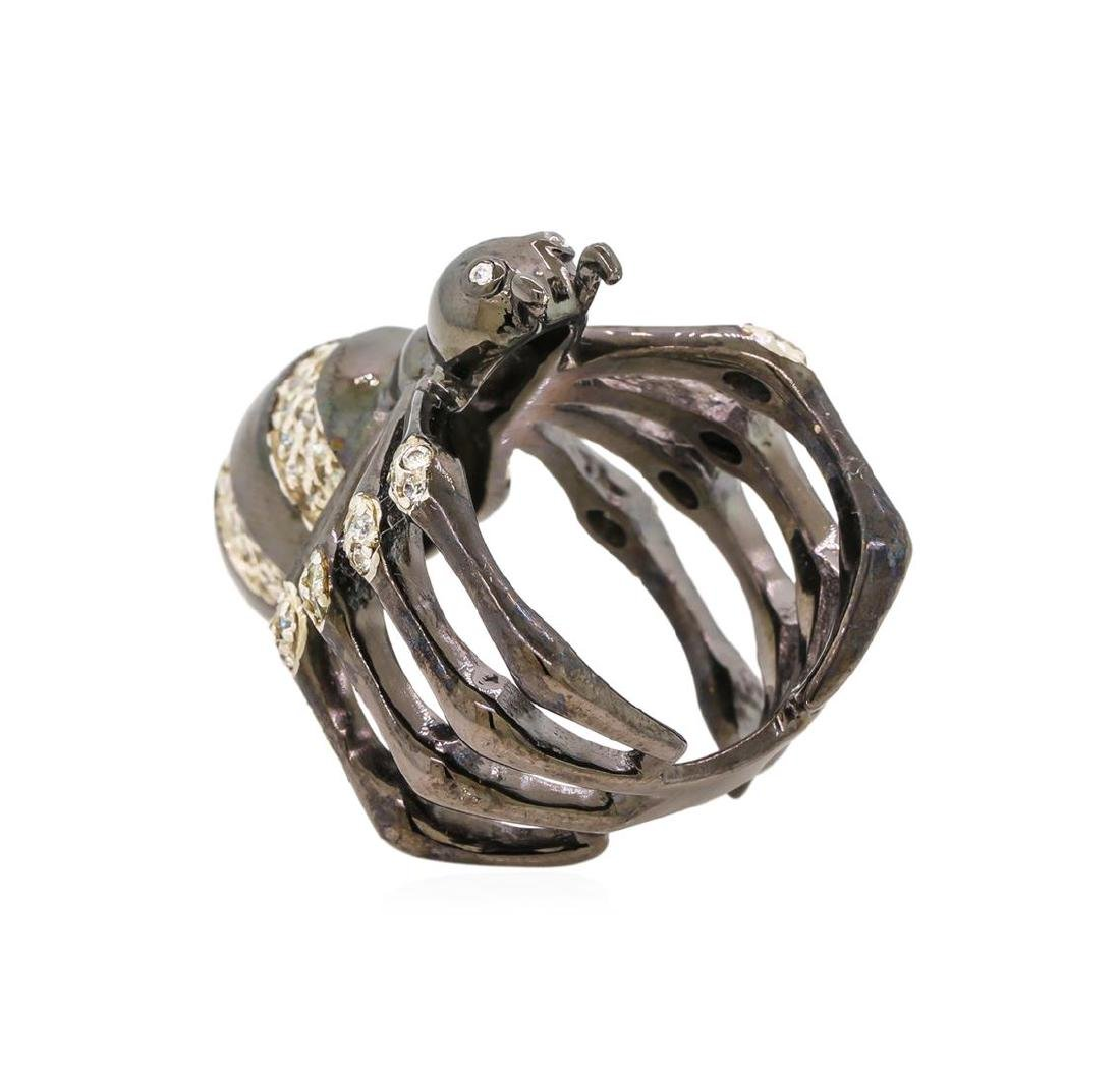 Sterling Silver Spider Ring - 3